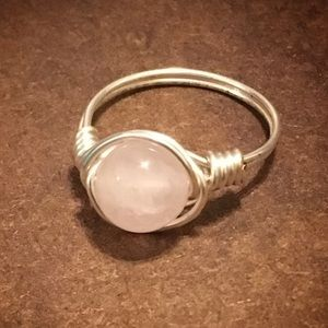 Jewelry - Handmade Rose Quartz Ring